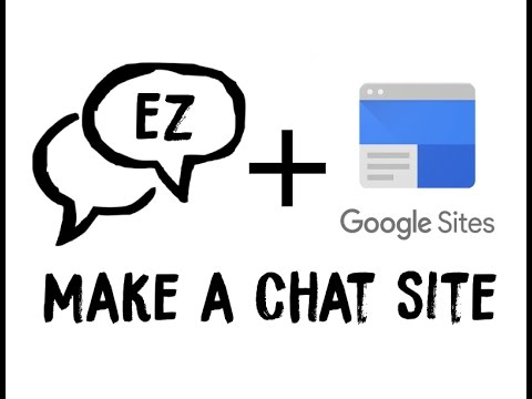 Add Chat To Google Sites (Or Any Other Site)