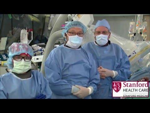 Distal TEVAR Live Case at Stanford University Medical Center, VIVA 15