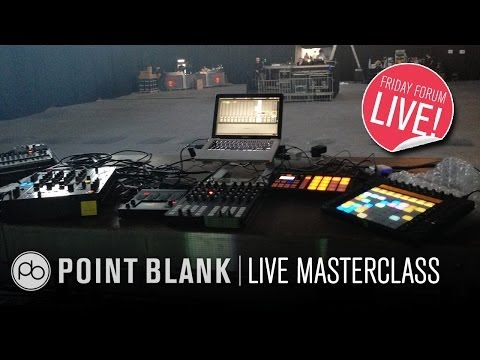 Ableton Live Performance Masterclass with Alex Banks (Monkeytown Records) (FFL!)
