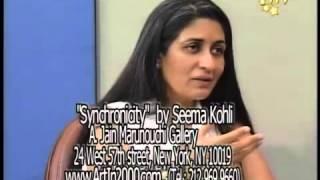 artist Seema Kohli in ITV
