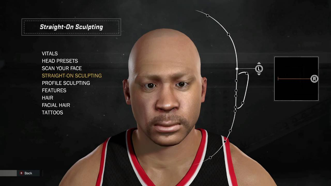 My 1st Working NBA 2k17 Face Scan - YouTube