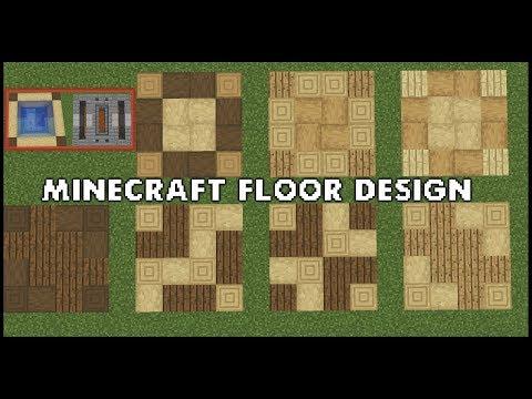 Красивый пол в Minecraft, Более 100 вариантов!   Minecraft Floor Design