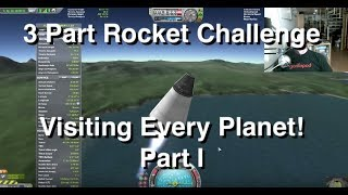 3 Part Rocket Challenge - Visiting all Planets - Part 1