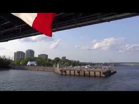 Ottawa, Ontario, Canada - Ottawa River Cruise HD (2015)