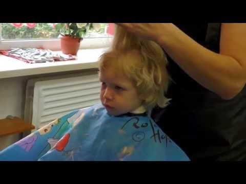 Как подстричь девочку в 1 год