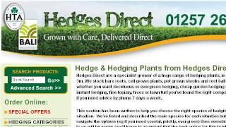 The Distance To Plant Laurel Hedges