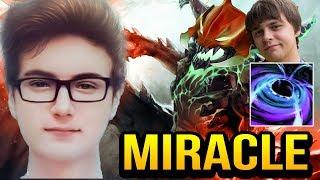 Miracle TRY HARD With OD vs Funnik BLACK HOLE Dota 2