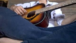 Yêu Sau Lưng Em- Cover Guitar. Thảo B.C.