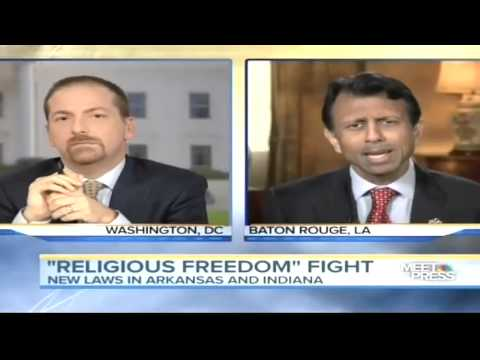 Gov. Jindal: There Used To Be A Bipartisan Consensus Around Religious Liberty.