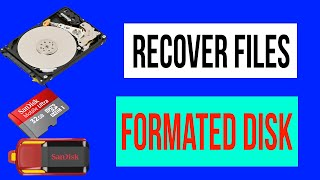 How To Recover Formated Deleted USB And Hardrive Files || Data Recovery || Disk Drill