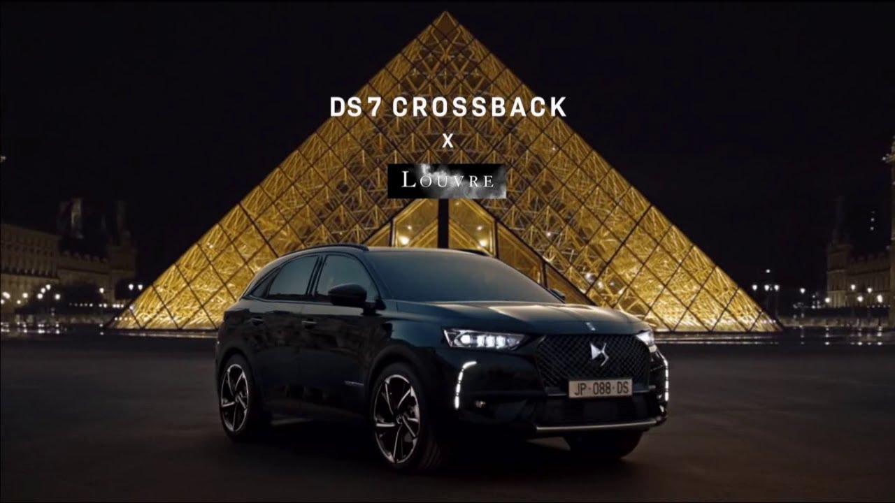 """Musique de la pub édition limitée DS7 Crossback x Louvre """"de l'audace naît l'excellence""""  2021"""