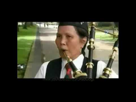 Just For Laughs Gags Asia - Bagpipe Prank