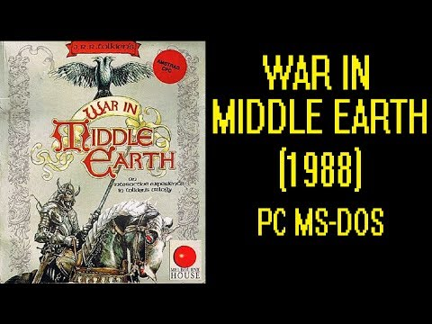 WAR IN MIDDLE EARTH, J.R.R. TOLKIEN'S (1988) - DOS Gameplay Video - PC MS-DOS