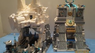 "Lego MOC: Chima Big Box Contest Entry ""Wolf Mountain"""