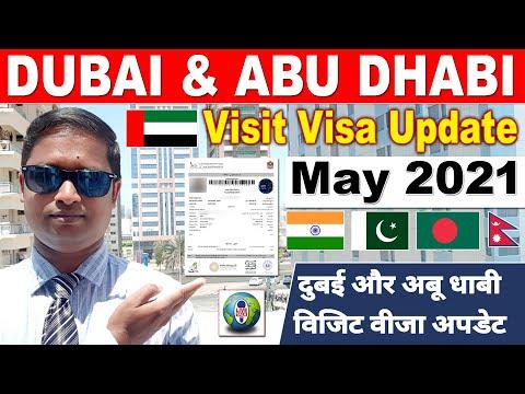 DUBAI VISIT VISA UPDATE   ABU DHABI VISIT VISA UPDATE   MAY 2021  DUBAI JOB   LIVE TALK DUBAI