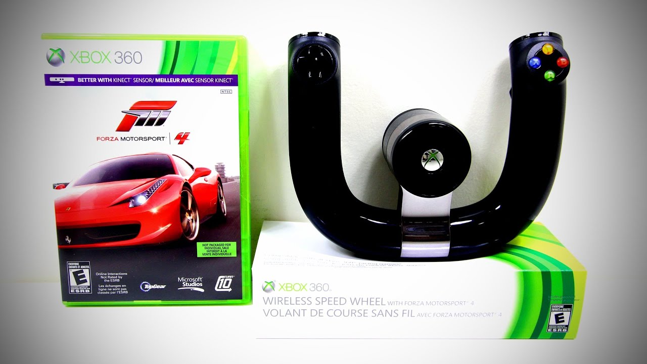 xbox 360 wireless speed wheel forza motorsport 4. Black Bedroom Furniture Sets. Home Design Ideas