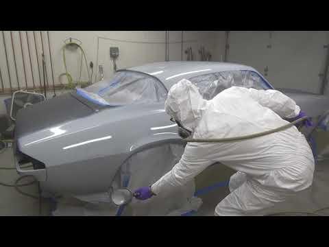 1977 Camaro Z28 Part 190 : Spraying PPG ECP15 2K primer/surfacer