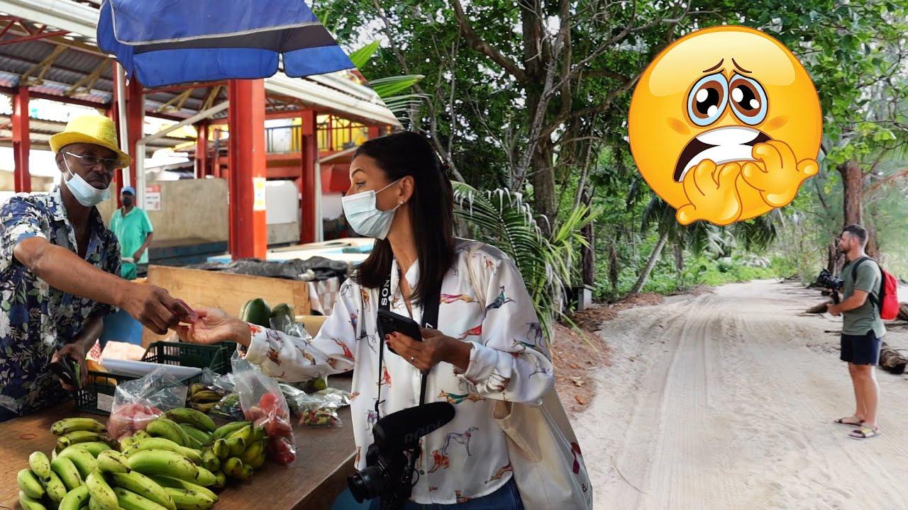 Ce poti cumpara dintr-o piata locala din Seychelles! Sperietura zdravana in jungla ??