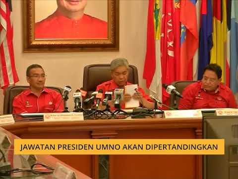 Jawatan Presiden UMNO akan dipertandingkan