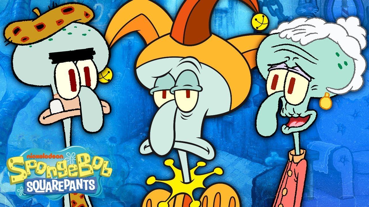Download Meet the Tentacles! 🦑 Every Member of Squidward's Family | SpongeBob