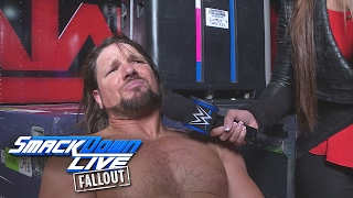 AJ Styles promises victory in his first Elimination Chamber: SmackDown LIVE Fallout, Feb. 7, 2017