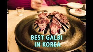 [Where to Eat the Best Gabli in Korea] BUSAN 암소 Galbi | RJ Travel Vlog