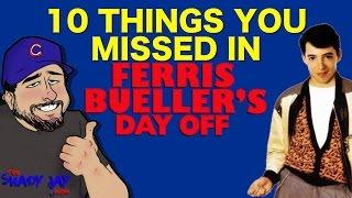 10 Things You Missed In Ferris Bueller