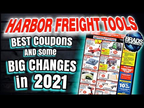 BEST Harbor Freight COUPONS, Excluded Items & New Tools || Jan. 2021
