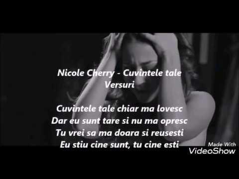 Nicole Cherry - Cuvintele tale - karaoke
