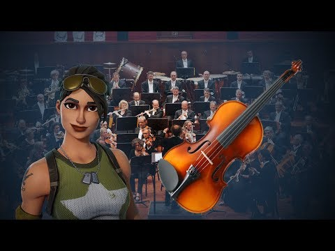 Fortnite Offenbach can can (Musical)