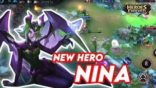 NEW HERO NINA   HEROES EVOLVED GAMEPLAY screenshot 3