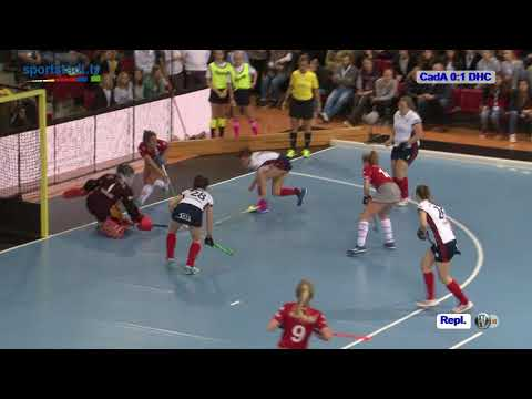 Finale 57. DM Hallenhockey Damen CadA vs. DHC 04.02.2018 Stuttgart Highlights