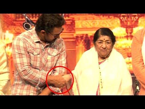 Aamir Khan's Sweet Gesture for Lata Mangeshkar