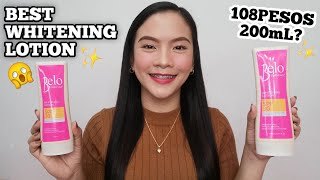 BELO WHITENING LOTION with SPF 30 | THE BEST PAMPAPUTI?