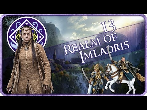JOURNEY TO ZAGH KALA - Realm of Imladris - Third Age Total War: Divide and Conquer - Ep.13!
