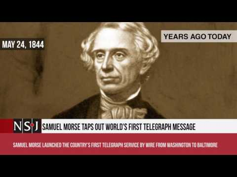 Brooklyn bridge opens, Nicholas Copernicus dies, first Telegraph message typed by Samuel Morse