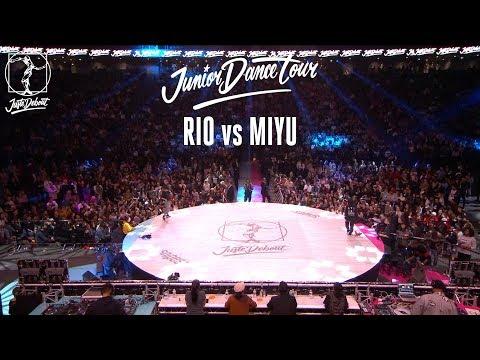 Junior Dance Tour 2018 final : Rio vs Miyu