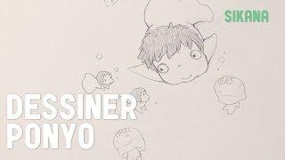 Manga : Dessiner Ponyo de Ghibli facilement - HD