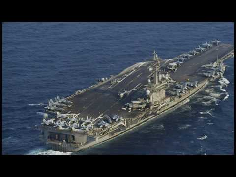 US Armada Enters Sea of Japan Off the Coast of Korean Peninsula