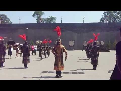 Changing of the Guard -- Xi'an City Walls, Shaanxi Province