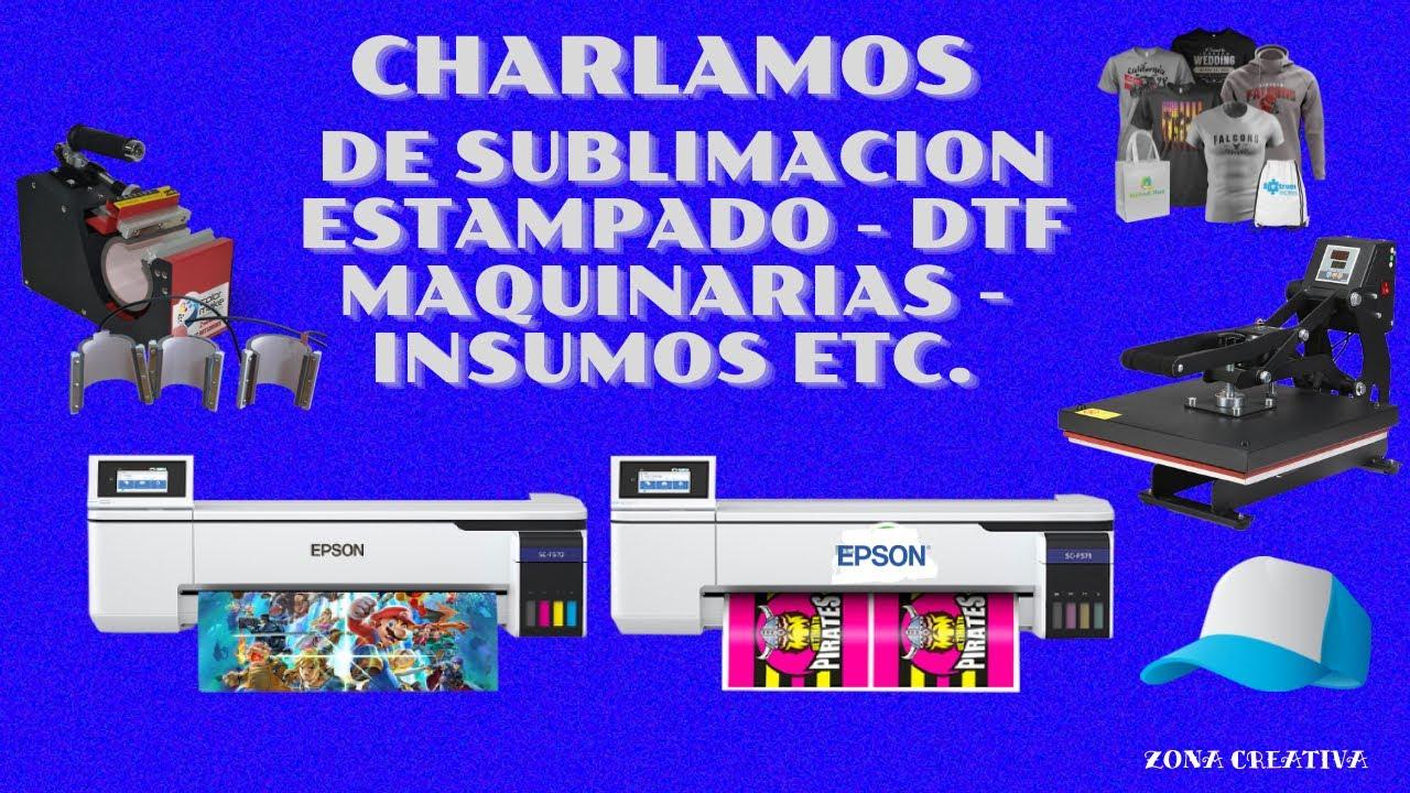 CHARLA GENERAL TOCAMOS VARIOS TEMAS MAQUINAS . DTF . INSUMOS PAGINAS UTILES ETC.