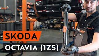 SKODA OCTAVIA Combi (1Z5) Nox Sensor vor Katalysator auswechseln - Video-Anleitungen
