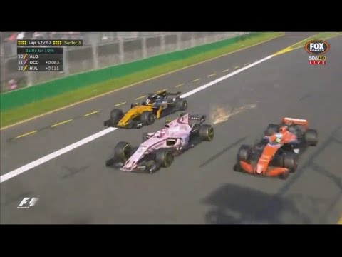 Premiers points en Formule 1 pour notre pilote Esteban Ocon
