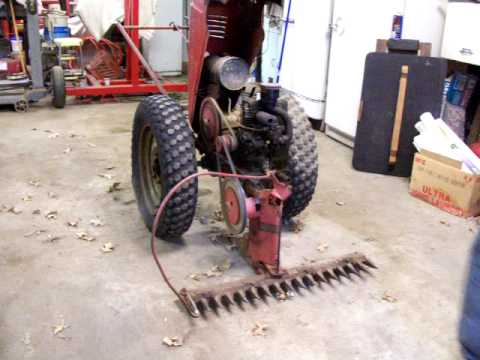 Vintage David Bradley Walk Behind Tractor 5751 Briggs