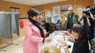 María Solana (Geroa Bai) pide a la ciudadanía que acuda a las urnas
