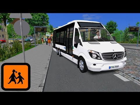 OMSI 2 SPRINTER CITY 77 von Mercedes-Benz ☆ Lets Play OMSI 2 | #651