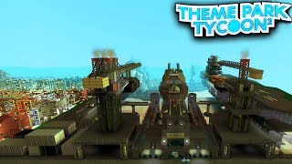 PARQUE temático COLOSSAL em ROBLOX (Theme Park Tycoon 2)