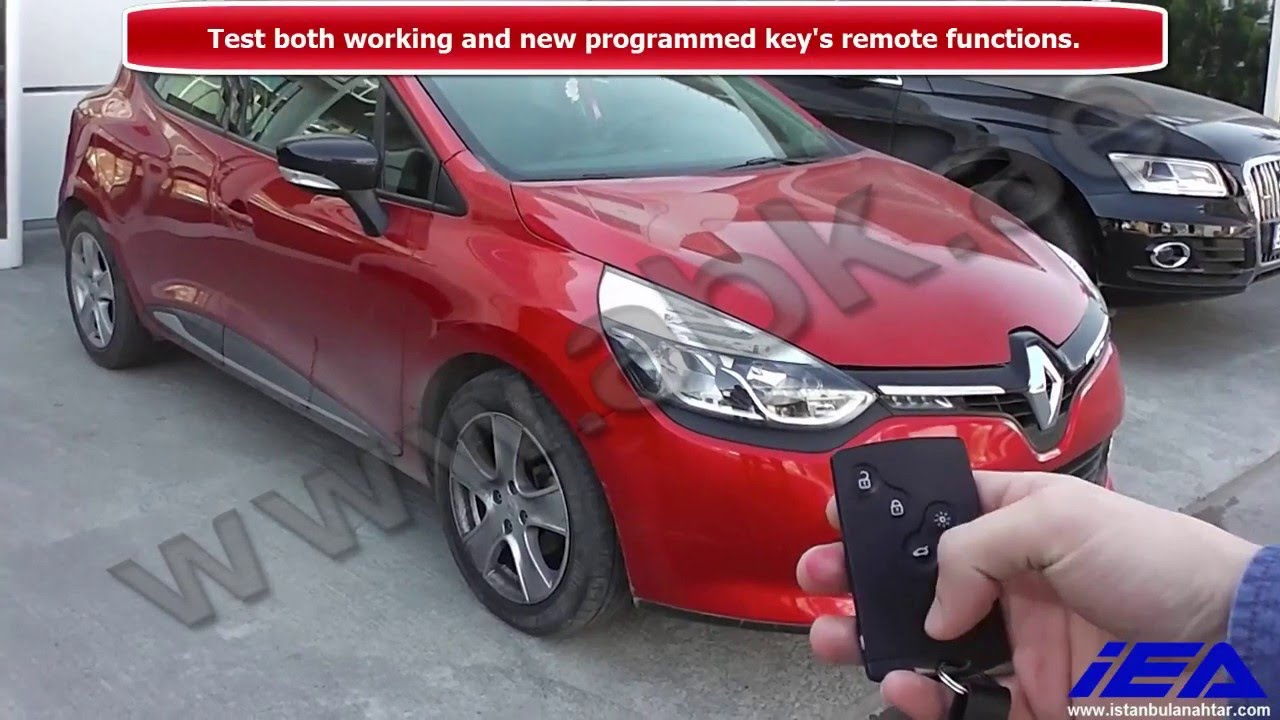 programming renault clio iv card done by zed full obd key programming. Black Bedroom Furniture Sets. Home Design Ideas