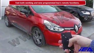 """www.abkeys.com"" Programming Renault Clio IV Card Done By Zed-Full OBD Key Programming Applications"
