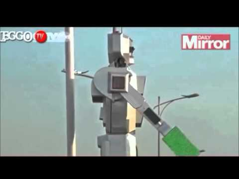 Traffic robot made in congo kinshasa